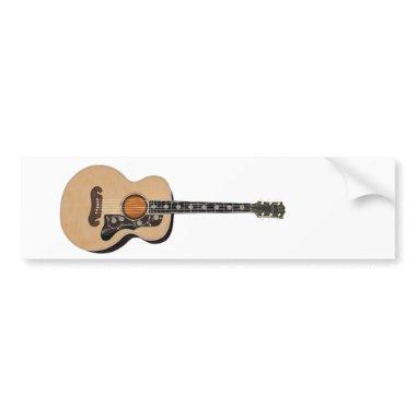 Guitar Bumper Sticker