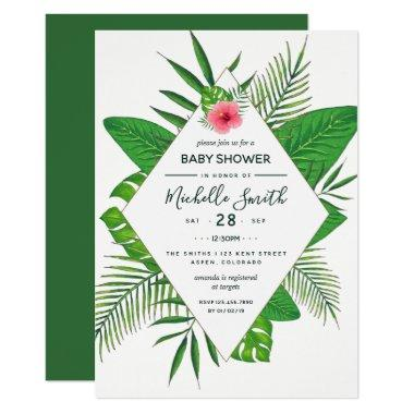 Hawaiian Aloha Luau Baby Shower