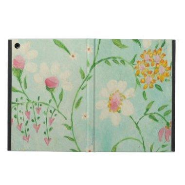 Hearts and Flowers iPad Air case
