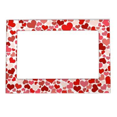 Hearts Magnetic Picture Frame
