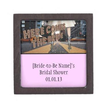 Here Comes the Bride -  Box Favors