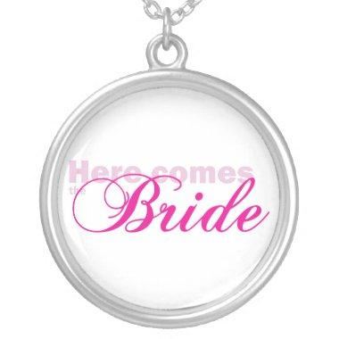 Here Comes the Bride Necklace