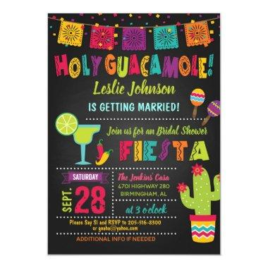 Holy Guacamole Fiesta Bridal Shower Invitations