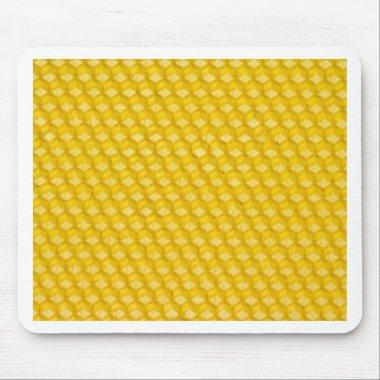 Honeycomb Background Gifts Template Mouse Pad