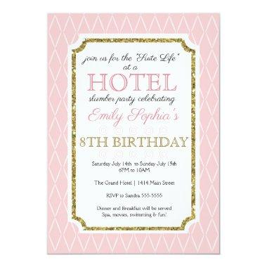 Hotel Party Invitations