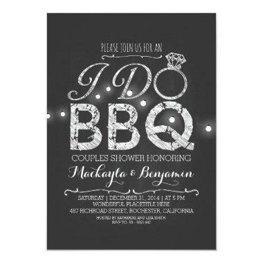 I do BBQ couples shower Invitations