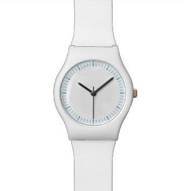 Ice White Numberless Watch