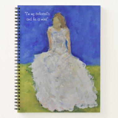 I'm my beloved's and he is mine notebook