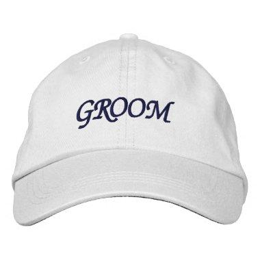 I'm the Groom Adjustable Hat