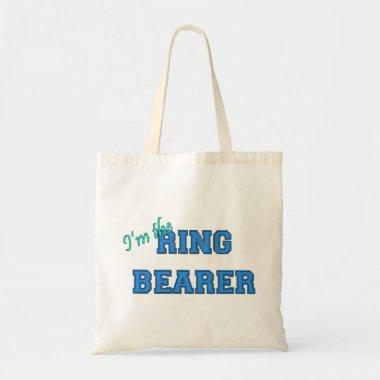 I'm The Ring Bearer Tote Bag
