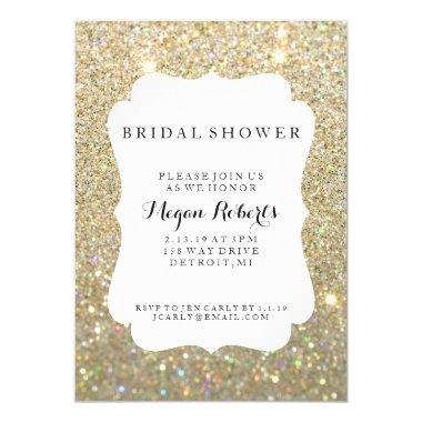 Invite - Bridal Shower Day Fab - Gold