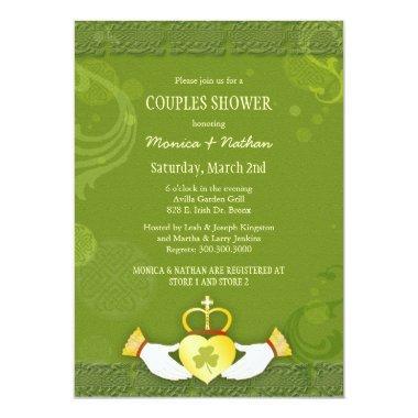 Irish Claddagh Heart Wedding Couples Shower