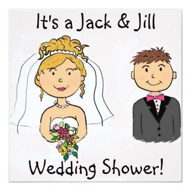Jack & Jill Bride Groom Wedding Shower
