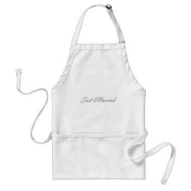 Just Married Apron