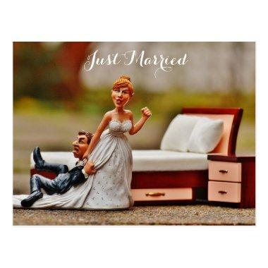 just married, funny picture post