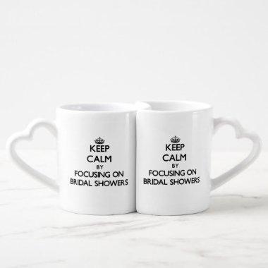 Keep Calm by focusing on s Coffee Mug Set
