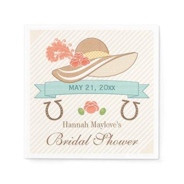Kentucky Derby Bridal Shower Napkins