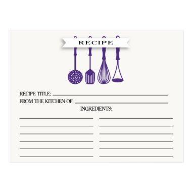 Kitchen Purple Utensils  Recipe
