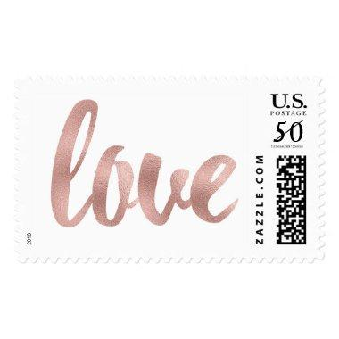 Large love stamps