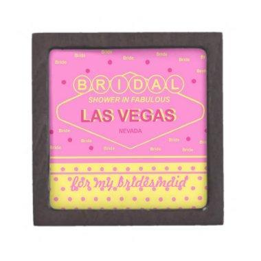 "Las Vegas  ""Bridesmaid"" Gift Box"