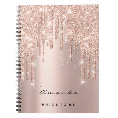 Lashes Confetti Makeup Artist Bridal Shower Spark Notebook