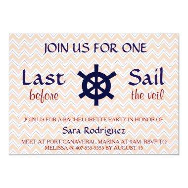 Last Sail Before The Veil Bachelorette