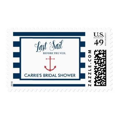 Last Sail Before the Veil Nautical Postage, Medium Postage