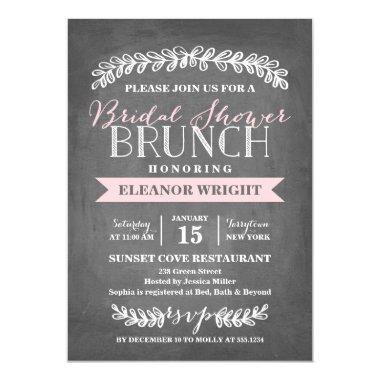 Laurel Brunch | Bridal Shower Invitations