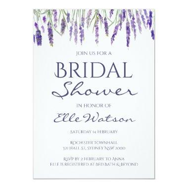Lavender  Invitation, Wedding