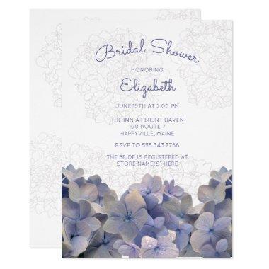 Lavender Floral Hydrangea