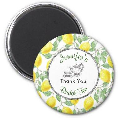 Lemons Branch and Tea  Thank You Magnet