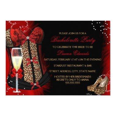 Leopard Print Corset Bachelorette Party