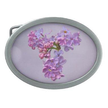 Lilacs in Springtime Belt Buckle