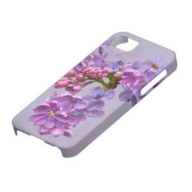 Lilacs in Springtime iPhone SE/5/5s Case
