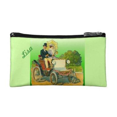 Lime Green  Bride Cosmetic Bag