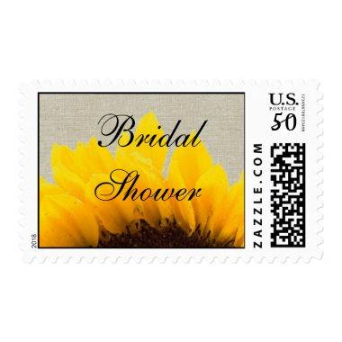 Linen Sunflower  Postage