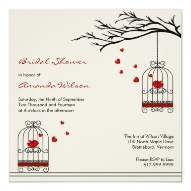 Love Birds in Birdcages