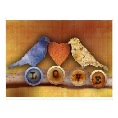 love birds post