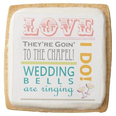 Love Bridal Shower Cookies
