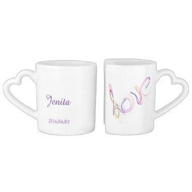 Love Coffee Mug Set