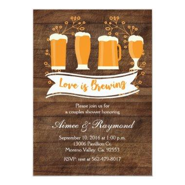 Love is Brewing Couples Shower