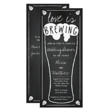 Love is Brewing Wedding Shower Invitations