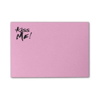Love Kiss Me Pink Lavender Note Wedding