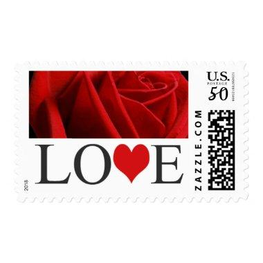 Love Stamps Red Wedding  Postage