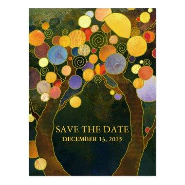 Love Trees Wedding Save the Date Post