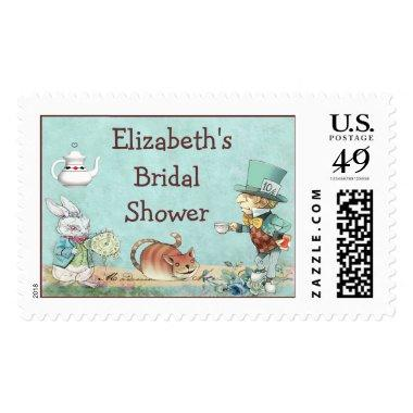 Mad Hatter's Tea Party Wonderland  Postage