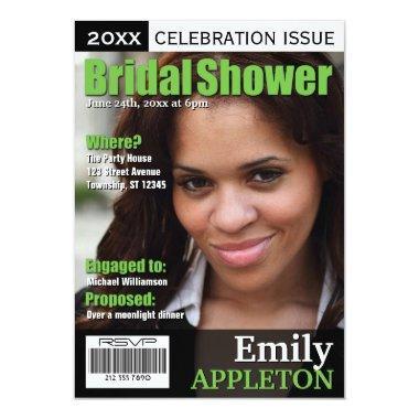 Magazine Cover Green