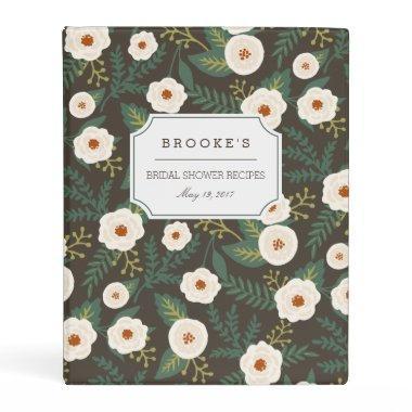 Magnolia Blossoms  Recipe Mini Binder