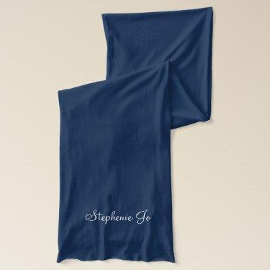 Maid of Honor Scarf