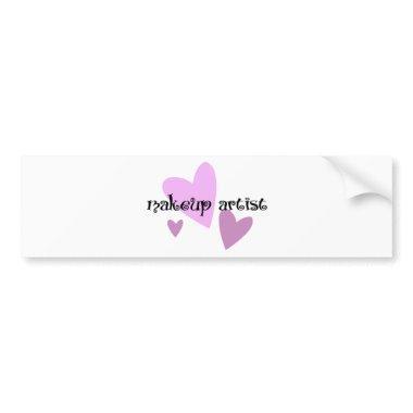 Makeup Artist Bumper Sticker
